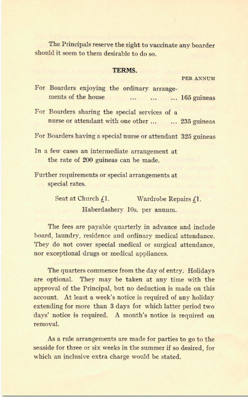 Normansfield: The Early Years 1868 to 1913. Part 6 Teaching (2/6)